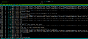 Interface de htop 2.0.