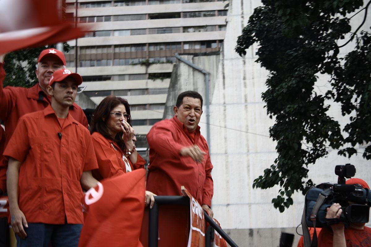Hugo Chávez y Cilia Flores.jpg