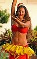 Hula dancer in action, Poipu, Kauai, Hawaii (4829701940).jpg