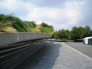 Irish Hunger Memorial - Image: Hunger Memorial Number 3