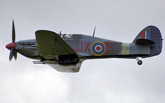 United Kingdom military aircraft serials - PZ865 a Hawker Hurricane