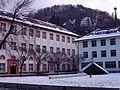 I. Campus Altstadt Neue Universität Heidelberg Innenhof im Winter.JPG