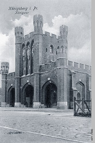 King's Gate (Kaliningrad) - Image: ID003164 A071 Koenigstor
