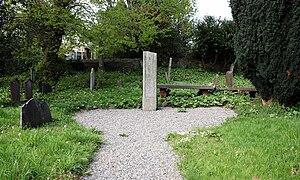 Delgany - Image: IMG Ancient Cross Delgany 0706