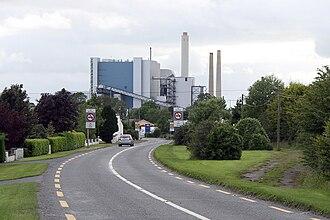 Lanesborough–Ballyleague - Lough Ree Power Station, Lanesborough