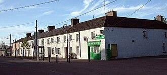 Prosperous, County Kildare - R408 through town centre