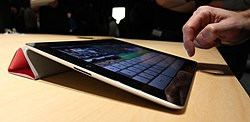 IPad 2 Smart Cover at unveiling crop.jpg