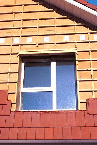 Isolation exterieur maison neuve sarking quimper bardage for Prix bardage bois interieur