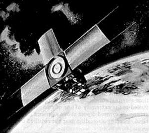 NOAA-4 - Illustration of an ITOS series satellite