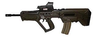 """وحدة النخبة البحرية في الجيش الإسرائيلي: """"السرية 13"""" ........Shayetet 13 305px-IWI-Tavor-TAR-21w1"""
