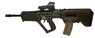 Israel Weapon Industries - Image: IWI Tavor TAR 21w 1