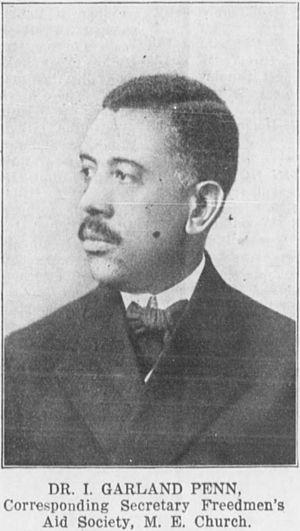 Irvine Garland Penn - Penn in 1913