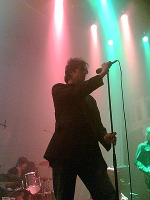 Echo & the Bunnymen - Echo and the Bunnymen at Paradiso, Amsterdam, in 2006.