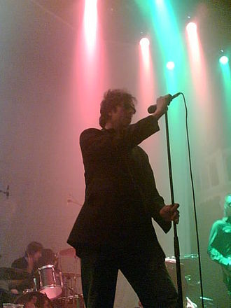 Echo & the Bunnymen - Echo and the Bunnymen at Paradiso, Amsterdam, in 2006