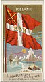 Iceland, from Flags of All Nations, Series 2 (N10) for Allen & Ginter Cigarettes Brands MET DP841378.jpg