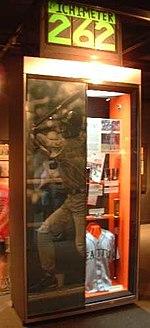 The display of Ichiro Suzuki
