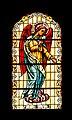Iglesia de Nuestra Señora de la Peña de Francia - Puerto de la Cruz - Donors window Archangel Gabriel.jpg