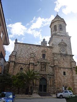 Iglesia de San Juan Evangelista, Mancha Real 01.JPG