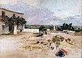 Ignacio Pinazo Camarlench La cruz del Molino en Godella.jpg