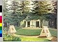 Ignaz Dullinger - Zelte im Garten von Schloß Schönbrunn 1838.jpg