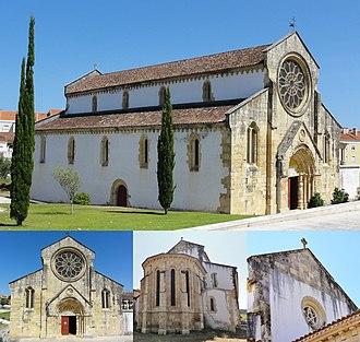 Church of Santa Maria do Olival - The Church of Santa Maria do Olival at Tomar
