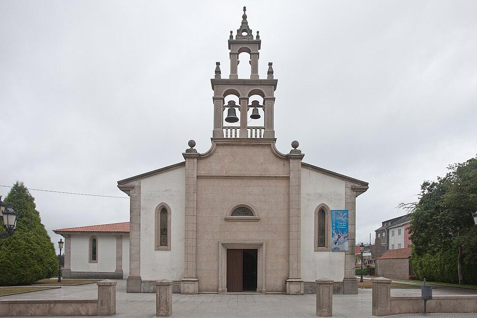 Igrexa de Santa María de Lurdes - Curtis - Galiza-3