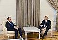 Ilham Aliyev and Bujar Nishani, 2017.jpg