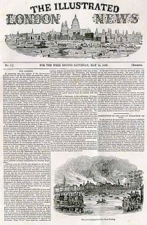 <i>The Illustrated London News</i> newspaper