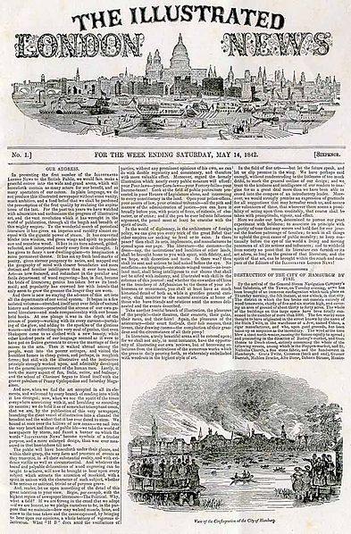 File:Illustrated London News - front page - first edition.jpg
