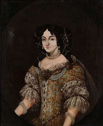 Ilona Zrínyi - Zrínyi Ilona (1643–1703), portrait from the Hungarian National Museum