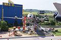 Ilyushin Il-18E Coot Czech Airlines OK-PAI HeadOn SATM 05June2013 (14598723684).jpg