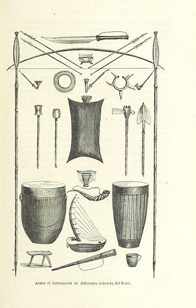 File:Image taken from page 91 of 'Découverte de l'Albert N'yanza ... Ouvrage traduit ... par G. Masson. Illustré ... et accompagné de 2 cartes' (11086775274).jpg