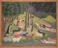India, Pahari Hills, Bilaspur school, 18th century - Krishna Summoning the Cows - 1989.339 - Cleveland Museum of Art.tif