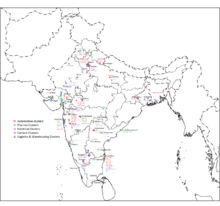 industrial map of india pdf List Of Industrial Centres In India Wikipedia industrial map of india pdf