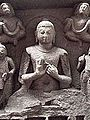 Indian Museum Sculpture - Buddha Teaching, 5c, Sarnath (9220788778).jpg
