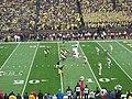 Indiana vs. Michigan football 2013 04 (Michigan on offense).jpg