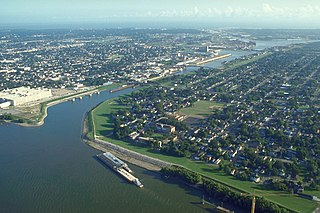 Industrial Canal canal in Louisiana, United States of America