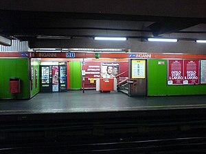 Inganni (Milan Metro) - Image: Inganni metro