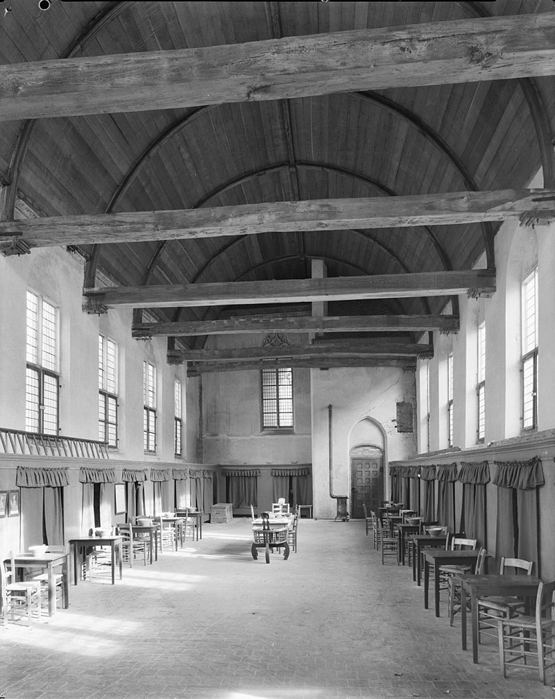Pieters of bloklandsgasthuis in 1907 gedeeltelijk for Interieur amersfoort