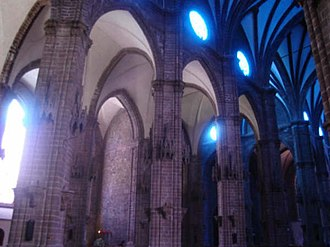 Cathedral of Our Lady of Guadalupe, Zamora - Image: Interior listo