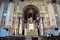 Interior of Basilica Santa María della Salute.jpg
