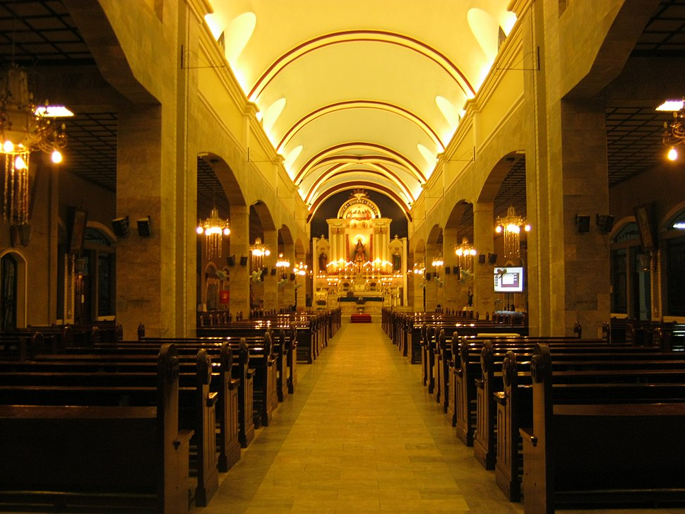 Interior of Our Lady of Grace Parish Church, Mabalacat City, Pampanga