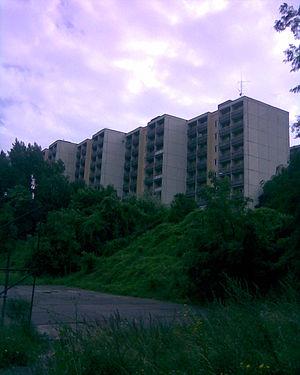 Mlynská dolina - Part of a university campus at Mlynská dolina