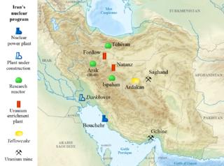 Nuclear facilities in Iran