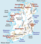 Physical features of Ireland. See also this larger version.
