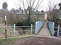 Iron footbridge - geograph.org.uk - 1757676.jpg