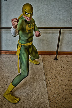 Cosplay de Iron Fist