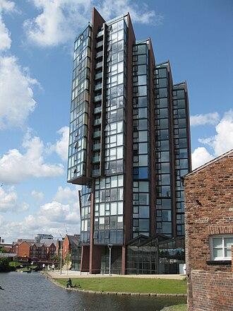 New Islington - Image: Islingtonwharf 2