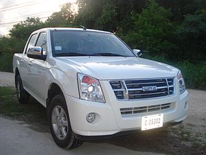 Isuzu Astra Motor Indonesia - Image: Isuzu D Max (Second Generation)