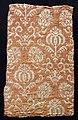 Italia, lampasso per arredo domestico, in seta, lino e lana, 1600-50 ca.jpg